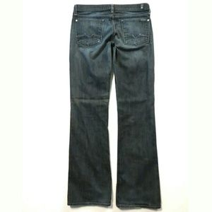 7 For All Mankind 28 x 32 Bootcut Low rise
